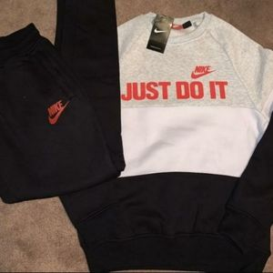Nike hoodie with joggers